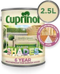 Cuprinol Garden Shades Country Cream 2 5l Amazon Co Uk Diy Tools