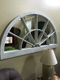 semi circle mirror gennacandela co