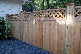 Custom Cedar Fence Gate Designs Allied Fence