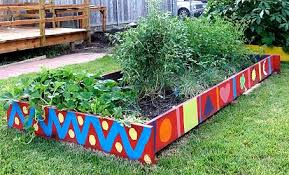 raised vegetable garden raised bed