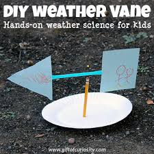 build a homemade weather vane to learn