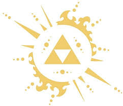 Amazon Com Ruki Legend Of Zelda Triforce Logo Wall Decal Vinyl Sticker Art Room Decor 26 X 22 Gold Home Kitchen
