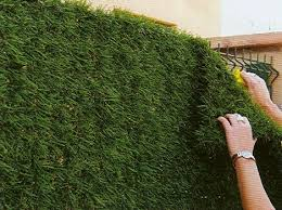 How To Beautify A Chain Link Fence Google Search Artificial Hedges Backyard Privacy Screen Backyard Privacy