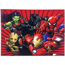 Marvel Captain America Hd Comic Cover Kids Rug Walmart Com Walmart Com
