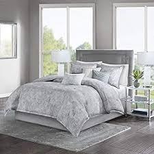 grey comforter sets