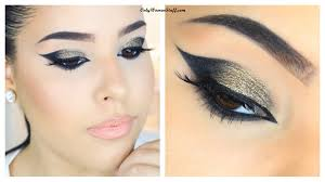 35 easy smokey cat eye makeup step