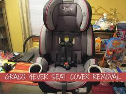 graco 4ever seat cover removal you