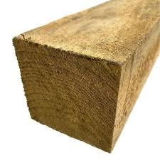 100 X 100mm 2 4m Rough Sawn Treated Pine Bunnings Warehouse