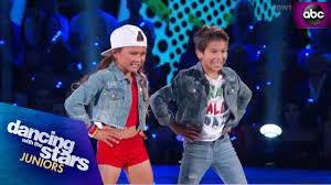Sky & JT's Salsa - DWTS Juniors - YouTube