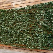 Goplus 40 X95 Faux Ivy Leaf Decorative Privacy Fence Screen Artificial Hedge Fencing Walmart Com Walmart Com