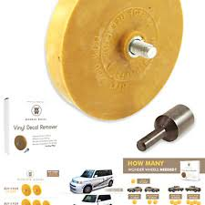Decal Remover Eraser Wheel Remove Car Decals Vinyl Stickers In Minutes With 4 For Sale Online Ebay