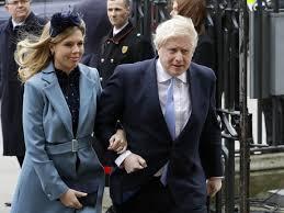 British Prime Minister Boris Johnson And Fiancée Carrie Symonds Announce  Birth Of Son : NPR