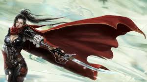 cloaked woman warrior wallpapers hd