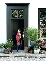 best plants for pots outside front door