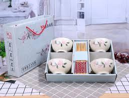 guotong ceramic chopsticks gift set