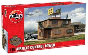 Resultado de imagem para Control Tower Airfix 1-72 [0)