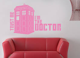 Tv Show Phone Booth Wall Sticker Decal Stencil Silhouette St81 Decalz Co