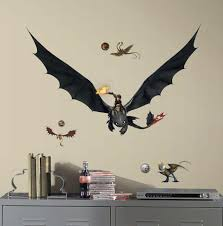 How To Train Your Dragon 2 Hiccup Toothless Peel And Stick Giant Wall Decals Wall Decal Allposters Com