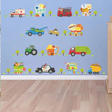 Vinyl 3d Cartoon Cars Highway Track Wall Stickers For Kids Rooms Sticker Children S Play Room Bedroom Decor Wall Art Decals Wall Stickers Aliexpress