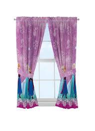 Disney Frozen Kids Bedroom Curtain Panel Set Set Of 2 63 Inch L Walmart Com Walmart Com
