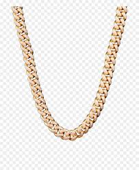 Iced Out Chain Png Gold Cuban Chain Transparent Clipart 4469177 Pinclipart