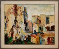 Effie May Jones New Mexico Indian Village Painting | J Levine ...