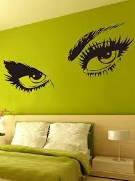 Beauty Eye Wall Decal Shein Usa