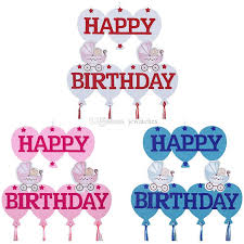 Diy Happy Birthday Banner Kids Room Brithday Party Decoration Creative Baby Shower Party Supplies Party Supplies Decorations Party Supplies Discount From Jcwatches 4 02 Dhgate Com