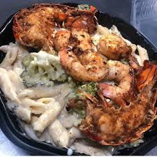 Jerk 48 - Jerk Lobster & Shrimp Alfredo ...