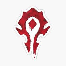 Horde Stickers Redbubble