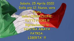 LIBERAZIONE !!! 25 Aprile 2020: Fuori TUTTI. - YouTube