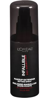 l oreal paris infallible pro spray and