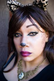 leopard makeup tutorial