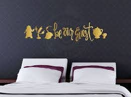 Be Our Guest Beautyandthebeast Belle Inspired Fanart Inspiredbydisney Disneyhome Disneygram Dis Home Decor Disney Decals Inexpensive Home Decor