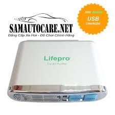 Máy Lọc Không Khí Và Khử Mùi Trên ôtô Lifepro tại Sam Auto Care