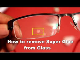 removing adhesive super glue from