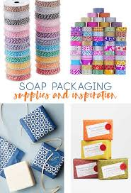 soap packaging supplies inspiration