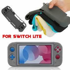 Mềm Mại Ốp Silicone Dành Cho Máy Nintendo Switch Lite Bảo Vệ Ốp Siêu Mỏng  Tay Cầm Chơi Game Bộ Điều Khiển Trong Suốt Thay Thế|