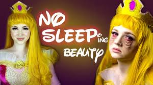 no sleeping beauty makeup tutorial