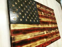 pallet flag inspiration wooden