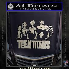 Teen Titans Logo Decal Sticker A1 Decals
