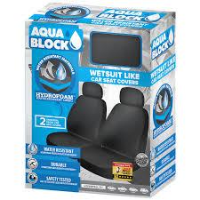 aquablock wet suit seat covers 2pk