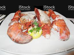 Lobster Dinner Stock Photo - Download ...