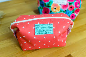 cosmetic case free sewing pattern