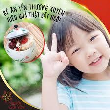 Yến Sào Phú Yên - VÌ SAO CÁC MẸ NÊN CHO BÉ ĂN YẾN THƯỜNG...