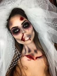 bride makeup zombie bride