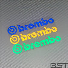 Brembo Wheel Brake Disc Calipers Vinyl Decal Auto Car Sticker Car Wrap Reflective Strip Stickers And Decals Car Stickers Aliexpress