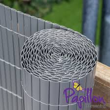Grey Bamboo Cane Artificial Fencing Screening 4 0m X 2 0m 13ft 1in X 6ft 7in By Papillon 44 99