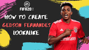 How to Create Gedson Fernandes - FIFA 20 Lookalike - YouTube