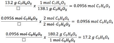 percent yield lovejoy pre ap chemistry